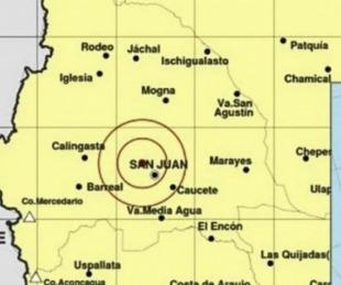 foto: Un fuerte sismo de cinco grados sacudió a la provincia de San Juan