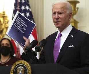 foto: Biden y la oposición: primera pulseada política por la ayuda económica
