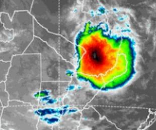 foto: Se esperan fuertes tormentas para la tarde/noche en Corrientes