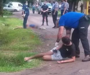 foto: Viajaba de acompañante en una moto, chocó y murió en el acto