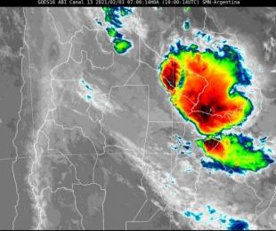 foto: Persiste un alerta por lluvias y tormentas para Corrientes