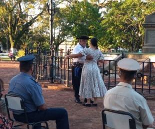 foto: Yapeyú festejó sus 394º aniversario con un pequeño acto