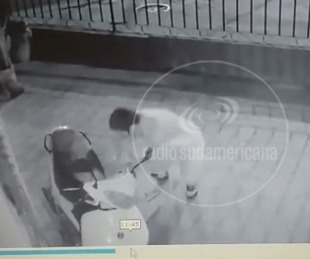 foto: Video: robó una moto de una casa y quedó grabado en las cámaras