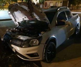 foto: Curuzú Cuatiá: perdió el control y terminó estrellado contra un árbol
