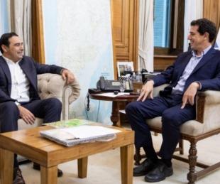 foto: El gobernador recibe mañana la visita del ministro del Interior