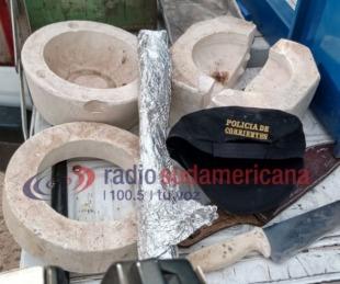 foto: Policía de Corrientes desmanteló plantación de droga en una casa