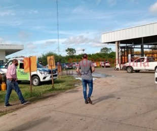 foto: A mano armada robaron $200.000 de una distribuidora de gas