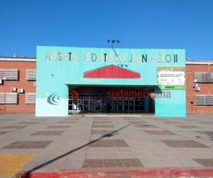 foto: Se realizó un operativo de ablación en el Hospital Pediátrico