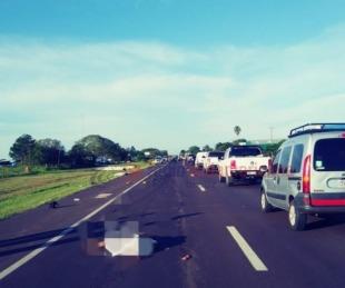 foto: Violento choque dejó dos muertos y hay un empresario involucrado
