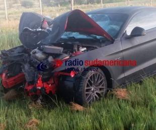 foto: Pericias indican que el empresario de la noche se cruzó de carril