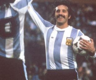foto: Murió Leopoldo Jacinto Luque, figura y campeón del Mundial 1978