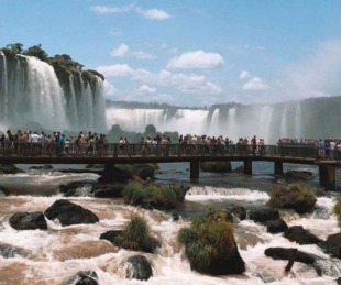 foto: Las Cataratas del Iguazú fueron elegidas como la tercera