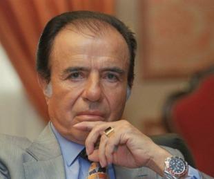 foto: La familia de Carlos Menem ofrece una recompensa por el anillo robado