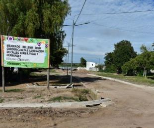 foto: Provincia construye un nuevo acceso permanente al río Corrientes