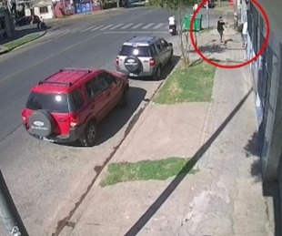 foto: El video que muestra cómo un policía mató a un motochorro
