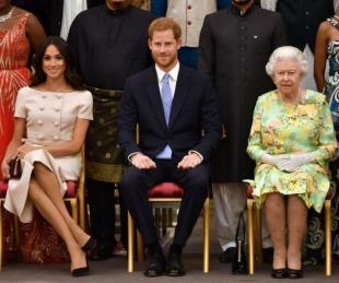 foto: Harry y Meghan Markle renunciaron por completo a la Familia Real