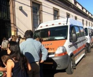 foto: Transporte escolar: los habilitaron pero aún no hay tarifas fijas