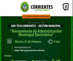 foto: Provincia presenta una herramienta para administrar los municipios