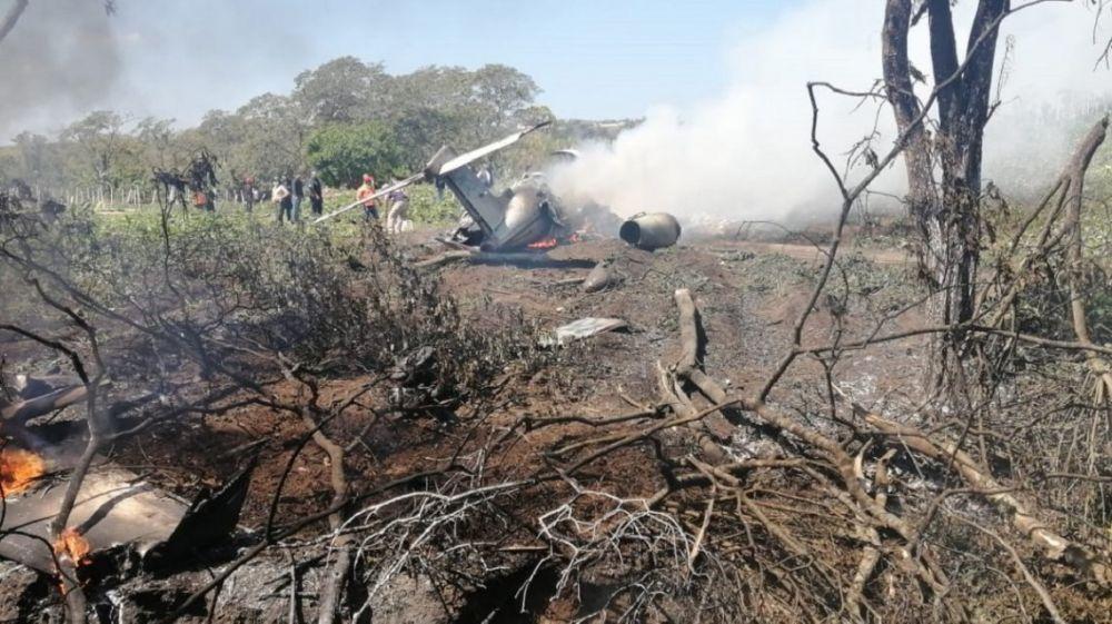 Se estrelló un avión militar: murieron los siete ocupantes