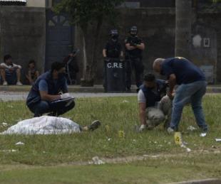 foto: Lo fusilaron de 12 tiros en el cortejo fúnebre de su hermano