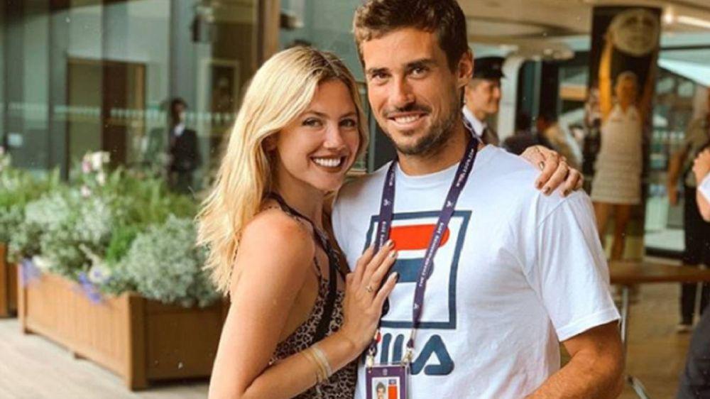 Stephanie Demner y Guido Pella tienen Coronavirus