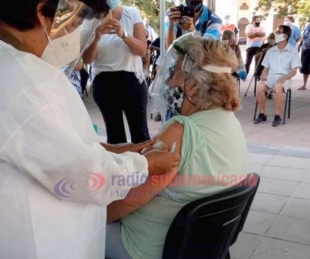 foto: Capital: mañana inicia vacunación a otros 1500 mayores de 65 años