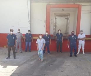 foto: El Frigorífico de Riachuelo retoma el trabajo tras casos de Covid