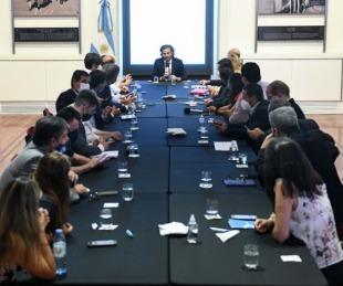 foto: Legisladores del Frente de Todos se reunirán con el Gabinete Nacional