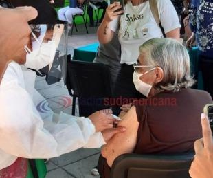 foto: Inició inscripción para vacunación a mayores de 65 años en el interior