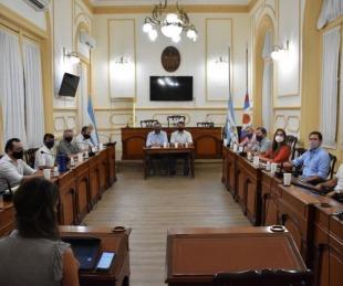 foto: Paritarias: Tassano anunció aumentos salariales a municipales