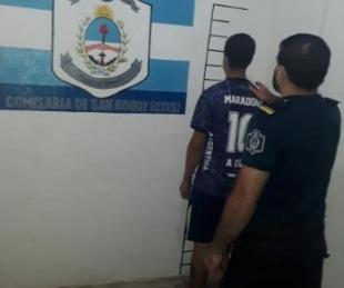 foto: San Roque: lo detuvieron y tenía un pedido de captura en Santa Cruz