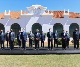 foto: Reunión de gobernadores del Norte Grande en Yapeyú: inició el cónclave
