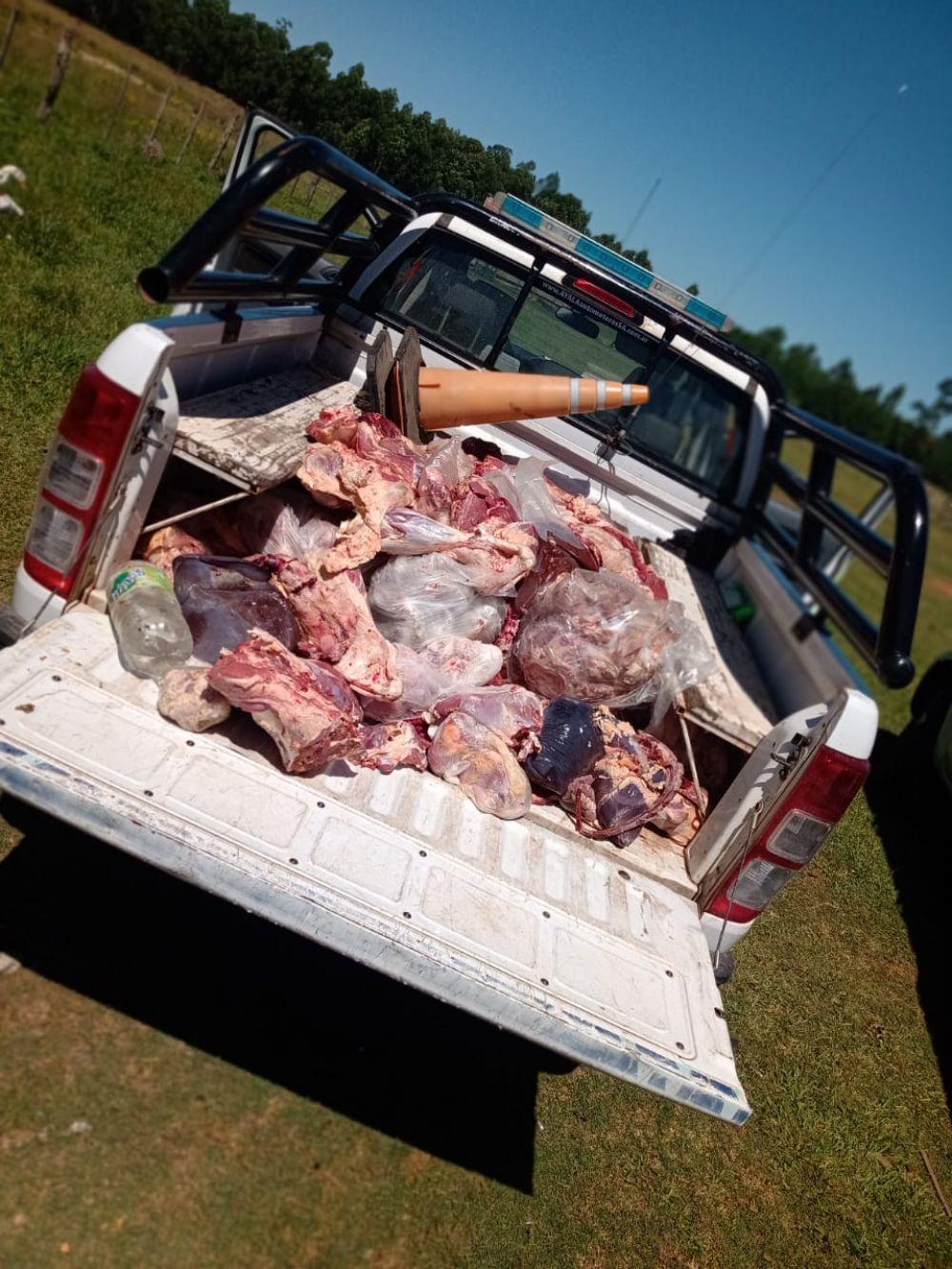 Incautaron más de 600 kilos de carne no apta para el consumo