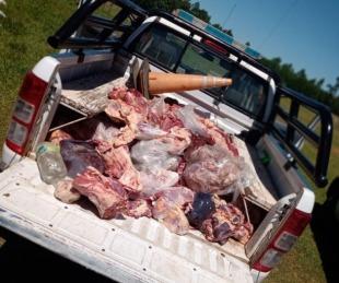 foto: Incautaron más de 600 kilos de carne no apta para el consumo