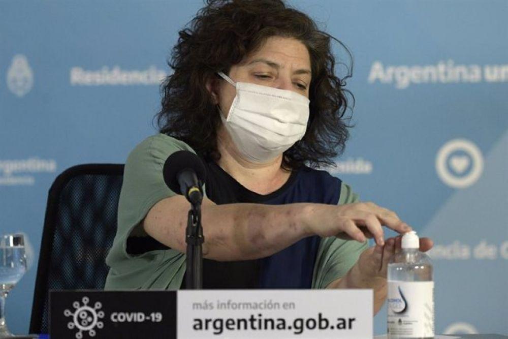 La ministra de Salud Carla Vizzotti se contagió de coronavirus