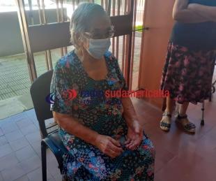 foto: La abuela de 102 años que ya se vacunó contra el coronavirus