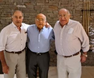 foto: Tras años de discordia, los hermanos Romero Feris volvieron a unirse