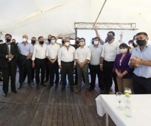 foto: De Pedro y Manzur se reunieron con dirigentes del Frente de Todos de Corrientes