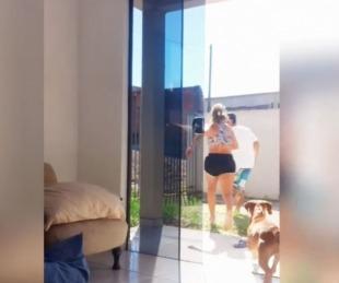foto: Bailaba en su casa, la sorprendió un intruso y lo sacó a patadas