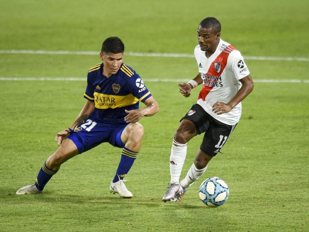 Fútbol: confirman la fecha del Superclásico entre Boca y River