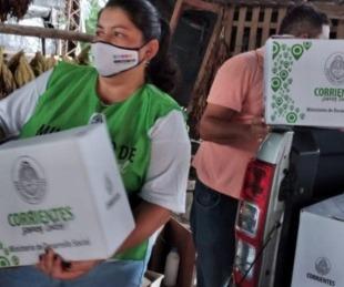 foto: Goya: entregarán módulos alimentarios a familias de varios barrios