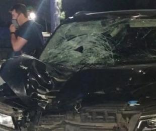 foto: Un ex arquero argentino atropelló y mató un hombre sobre Ruta 2