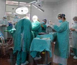 foto: Se colocó el primer implante coclear del año en el Pediátrico