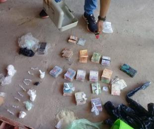 foto: Capital: detienen a dos personas y secuestran cocaína de una casa