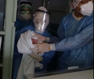foto: Corrientes: nació el vigésimo tercer niño en el hospital de Campaña