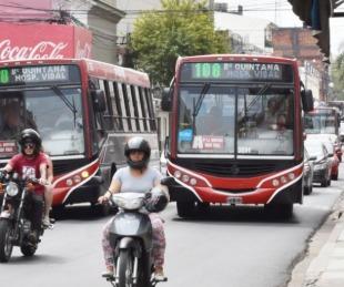 foto: Multarán y detendrán la marcha de colectivos saturados de pasajeros