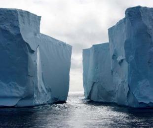foto: Antártida: se desprendió un témpano de más de mil kilómetros