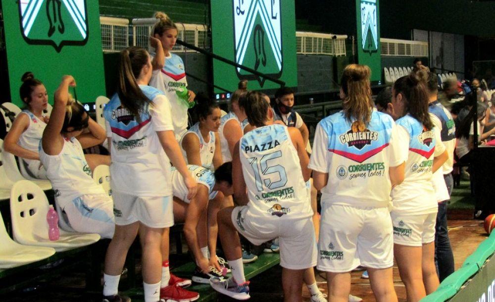 Corrientes Básquet mostró un buen juego pero perdió sobre el final