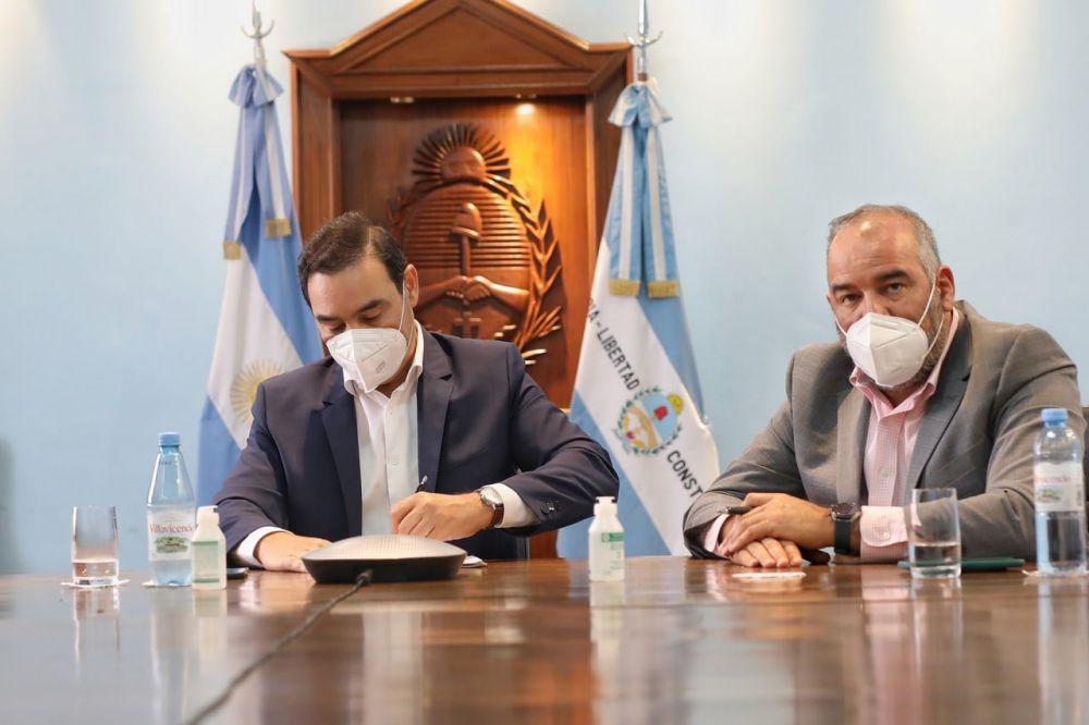 El Ministro de Obras de la Provincia dio positivo a coronavirus
