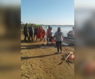 foto: Intentó quitarse la vida y fue rescatado de las aguas del Paraná